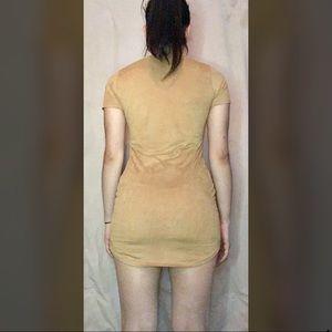 April Spirit Dresses - Suede party dress